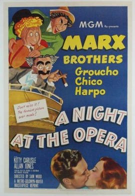 MARX BROS: A NIGHT AT THE OPERA