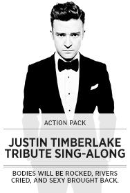 Poster: Justin Timberlake Tribute SAL - 2013
