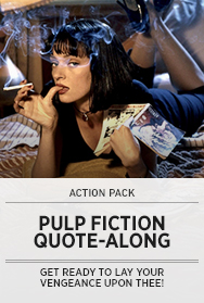 Poster: Pulp Fiction Quote-Along - 2013
