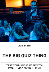 Poster: The Big Quiz Thing