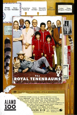 Booze and Cheese with Antonelli's: THE ROYAL TENENBAUMS