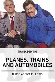 Poster: PLANES TRAINS AND AUTOMOBILES
