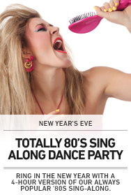 Poster: New Years Sing-Along