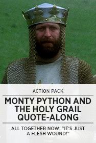 Poster: Monty Python and the Holy Grail QAL - 2014