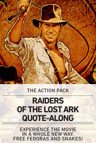Poster: Raiders Quote-Along