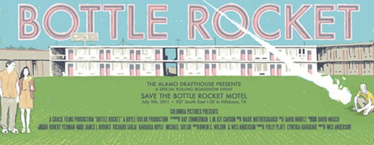 """Tell Anthony I Love Him"" :: Alamo Helps Save the BOTTLE ROCKET Motel!"