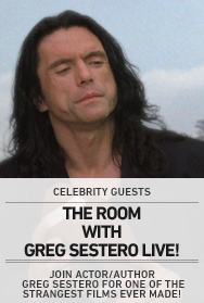 Poster: The Room (Sestero)