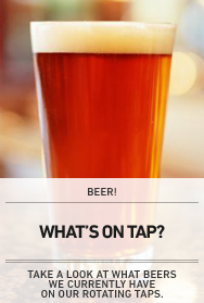 Poster: What's On Tap
