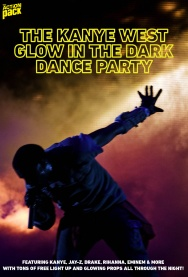 Kanye West Glow in the Dark Party