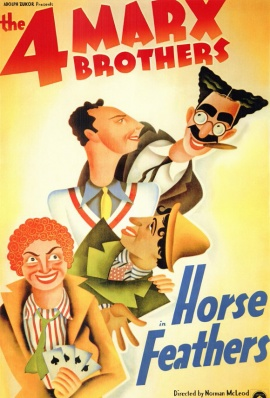 MARX BROS: HORSE FEATHERS