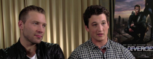 Badass Interview: Miles Teller And Jai Courtney Talk DIVERGENT