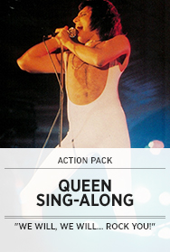 Poster: Queen Sing-Along - 2014