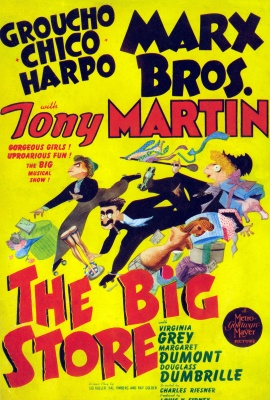 MARX BROS: THE BIG STORE