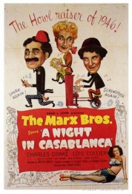 MARX BROS: A NIGHT IN CASABLANCA