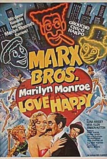 MARX BROS: LOVE HAPPY