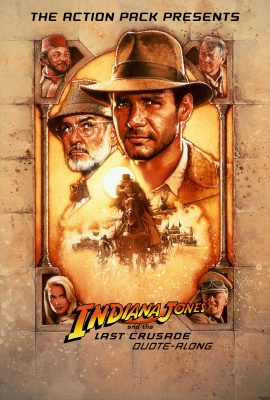 INDIANA JONES AND THE LAST CRUSADE Quote-Along