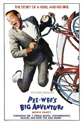 PEE-WEE'S BIG ADVENTURE Movie Party