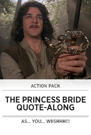 Poster: THE PRINCESS BRIDE QAL
