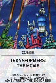 Poster: TRANSFORMERS '86