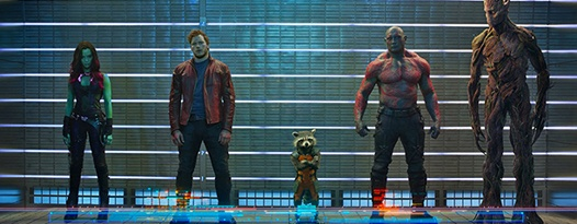 Pop-up comic shops! Themed menus! Cosplay nights! GUARDIANS OF THE GALAXY opens this Thursday!