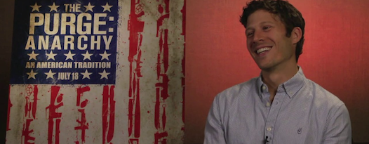 Zach Gilford talks THE PURGE: ANARCHY with Alamo DFW's James Wallace