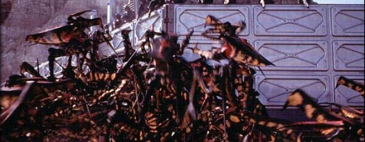 Starship Troopers screenings to have live explosions. Would you like to know more?
