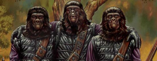 The apes must have their day: DAY OF THE APES!