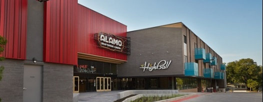 ALAMO DRAFTHOUSE SOUTH LAMAR  AND THE HIGHBALL RE-OPEN