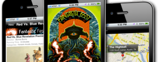 Fantastic Fest iPhone app v1.1 in the App Store NOW