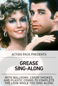 Poster: GREASE Sing-along 2014