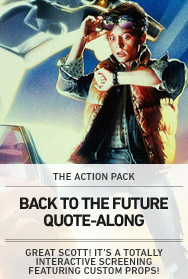 Poster: BACK TO THE FUTURE Quote-Along