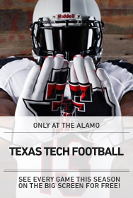 Poster: Texas Tech Football