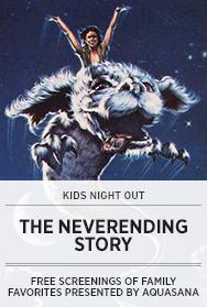 Poster: Aquasana THE NEVERENDING STORY