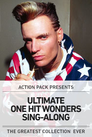 POSTER: ULTIMATE ONE HIT WONDERS SING-ALONG