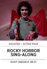 Poster: Action Pack ROCKY HORROR PICTURE SHOW - 2014 Upload
