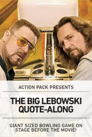 POSTER: THE BIG LEBOWSKI QUOTE-ALONG