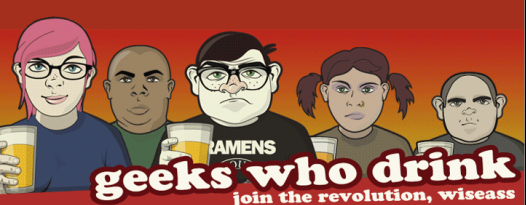 Geeks Who Drink is now on Tuesdays and Thursdays!