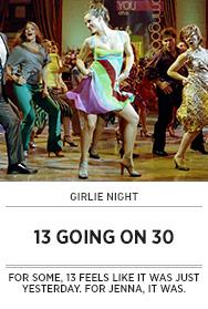 Poster: Girlie Night 13 GOING ON 30 - 2014 upload
