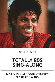 Poster: Totally 80s Sing-along - Michael Jackson Image