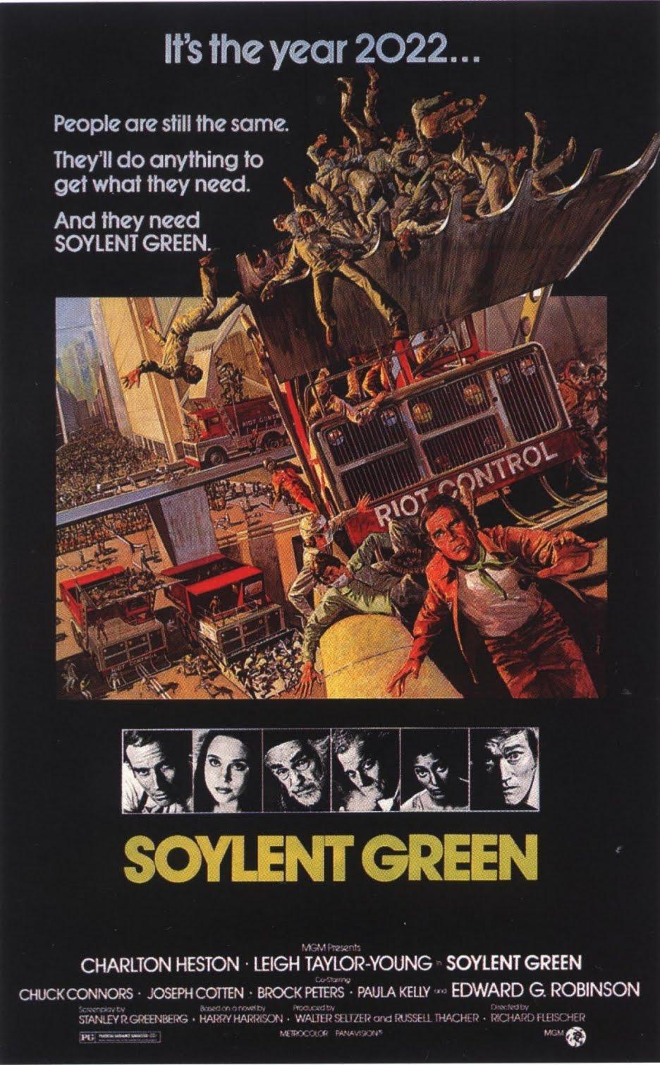Soylent green ashburn alamo drafthouse cinema for Soylent green