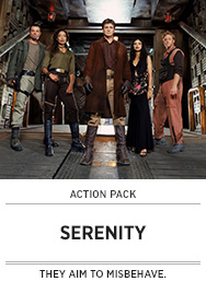 Poster: Action Pack SERENITY Quote-along - 2014 upload