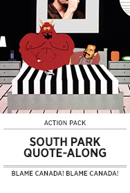 Poster: Action Pack SOUTH PARK Sing-along - 2014 upload