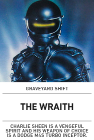 Poster: The Wraith