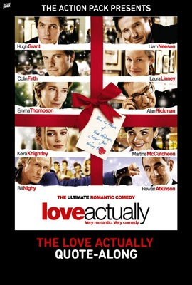 The Action Pack's LOVE ACTUALLY Quote-Along