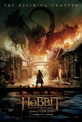 THE HOBBIT: THE BATTLE OF THE FIVE ARMIES 2D