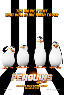 2D PENGUINS OF MADAGASCAR