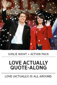 Poster: LOVE ACTUALLY Quote-Along - 2014 upload