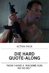 Poster: DIE HARD Quote-Along - 2014 upload