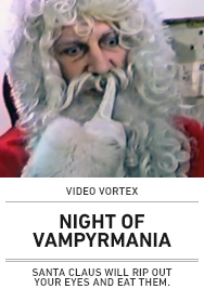 Poster: Video Vortex NIGHT OF VAMPYRMANIA