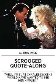 Poster: SCROOGED Quote-Along - 2014 upload
